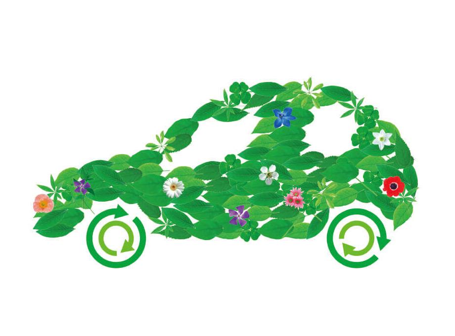 自動車の資源循環に貢献